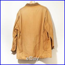 1970's X-Large Vintage LL Bean Canvas Hunting Jacket Distressed American Workwear Made in USA