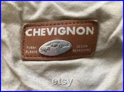Chevignon Sport Togs Made in France Genuine Leather Size M