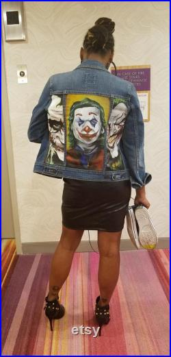 Custom Denim Jackets Personalized Clothing Great for a Gift Gift For Anybody Any Theme Any Fabric