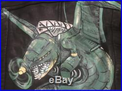 Custom Painted Leather Jacket for J.S.