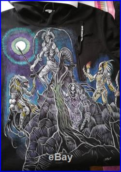 Denim jackets airbrushed any design possible