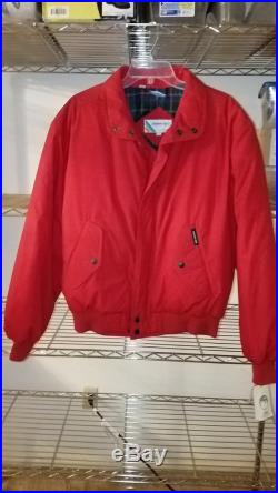 Extremely Nice Vintage DOWN Coat 80's by MEMBER'S ONLY Never Worn, Still With Tags On Duck Down