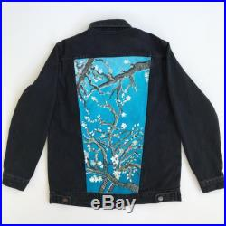 Hand Painted Jacket Almond Blossom