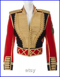 Handmade Jacket Leave Me Alone by Michael Jackson Handmade Michael Jackson jacket