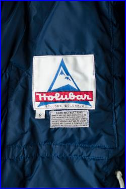Holubar Mountain Parka Blue Cold Weather Mountaineering Outdoors Jacket Coat Size Men's Small