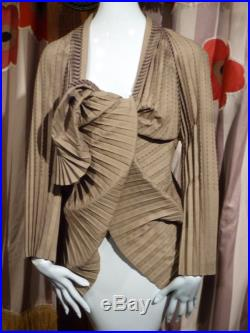 Issey Miyake 1990 Art Wrap Jacket Fortuny Couture Japan Origami