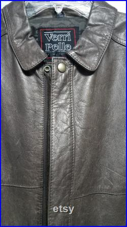 Leather Jacket 80'S by PERRI PELLE Never Worn