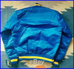 Los Angeles Rams Vintage Starter Jacket M Satin Deadstock Rare NWT 90s NFL