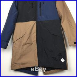 Power to the People Colorblock Mountain Anorak Parka Jacket Size M