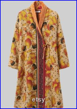 RECYCLED KANTHA GOWN