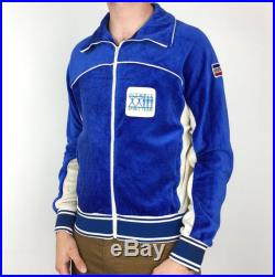 Rare Vintage 80s 1984 84 Levis LA Los Angeles Olympics Olympic Games Made in USA Spirit Team zip up track jacket Size M-L