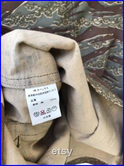 Rare Vintage Needles By Nepenthes Collab Number Nine Tiger Stripe Camo Amy Jacket Number Japan Legendary Streetwear Jacket sz M