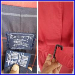 Rare vintage Burberrys trench coat made in england
