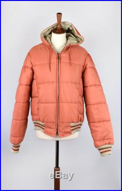 Reversible Cold Weather Puffy Coat Quilted Reversible Jacket
