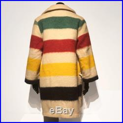 Rice Sportswear Wool Blanket coat