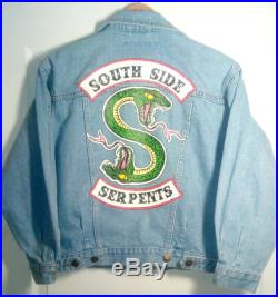 South side jean jacket hand painted