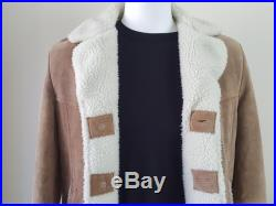 Suede and Sherpa Rancher Jacket Men's Size 40