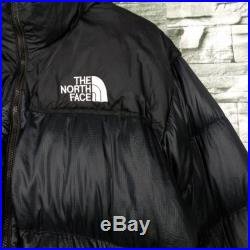 The North Face Down Jacket Large Vintage 90s TNF Goose Down Bombers Hoodie Jacket Size L