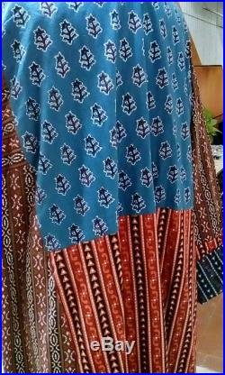 UNISEX Mad for Marrakech Multi Pattern Banging Bohemian Technicolor Dreamcoat