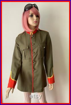 Vintage 1960s mod jacket marching band lord kitcheners valet sgt peppers military jacket