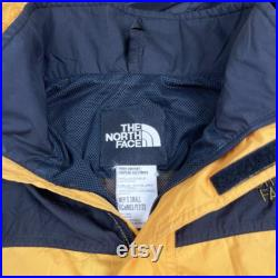 Vintage 90s The North Face Hyvent Jacket Mens Small Vtg 1990s Retro Coat Asap Yams Yellow TNF Classic USA