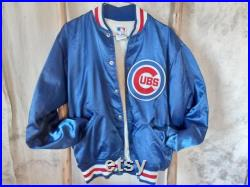 Vintage Chicago Cubs Jacket Union Made in the USA by Felco- Med