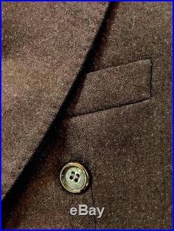 Vintage GANGSTER Al Capone Chicago Mobster Style Jacket High Quality Tailoring Exclusive Design for Harvey Nichols Pure Wool UNISEX