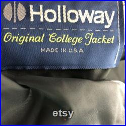 Vintage Holloway Embroidered COCA COLA Red Wool