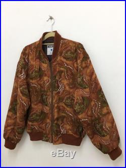 Vintage Moschino Jeans Bomber Jacket Classic floral Print