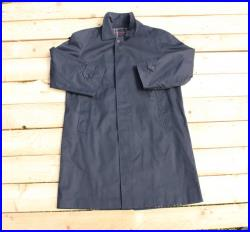 Vintage Retro Trench Coat cappotto impermeabile Heritage BURBERRY'S Made in London Classic fit blue taglia size