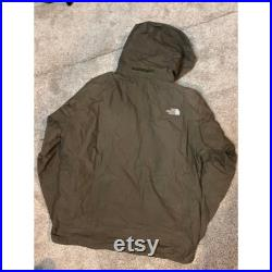 Vintage The North Face brown hyvent windbreaker Size L