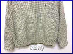 Vintage Yves Saint Laurent YSL checkerboard harrington jacket luxury balenciaga